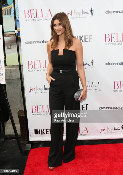 Reality TV Personality Shiva Safai attends the BELLA Magazine Los Angeles summer Issue launch party at the Sofitel Los Angeles At Beverly Hills on...