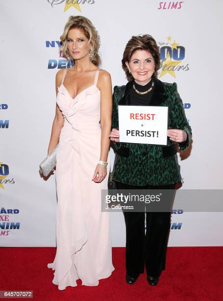 Reality TV personality Summer Zervos and lawyer Gloria Allred attend The 27th Annual Night Of 100 Stars Black Tie Dinner Viewing Gala at the Beverly...