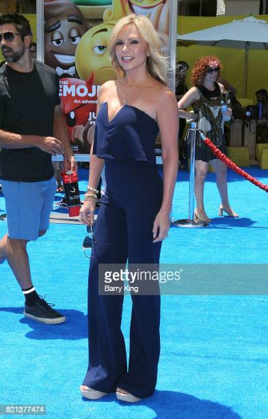 Reality TV personality Tamra Judge attends the premiere of Columbia Pictures and Sony Pictures Animations' The Emoji Movie' at Regency Village...