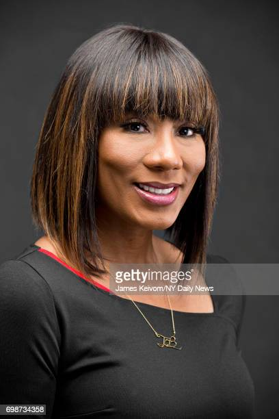 Reality TV personality Towanda Braxton is photographed for NY Daily News on February 14 in New York City
