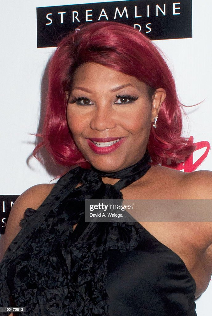Reality TV personality Traci Braxton at Xen Lounge for a Night To Celebrate Tamar Braxton's GRAMMY Nominations on January 26, 2014 in Los Angeles, California.