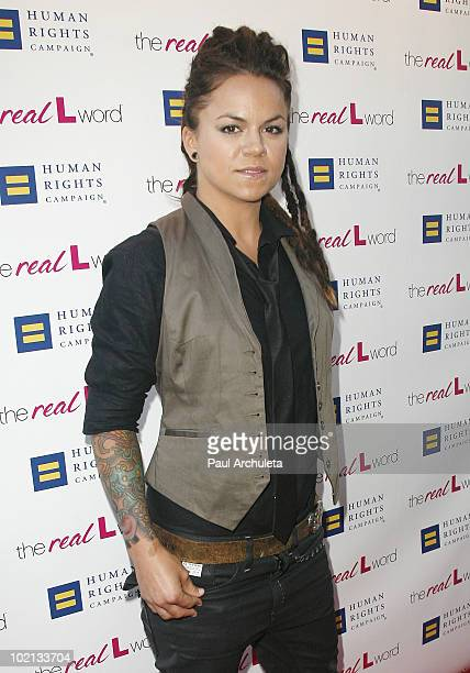 Reality TV personality Whitney Mixter arrives at Showtime's Los Angeles Premiere of 'The Real L Word' at East West Lounge on June 15 2010 in West...