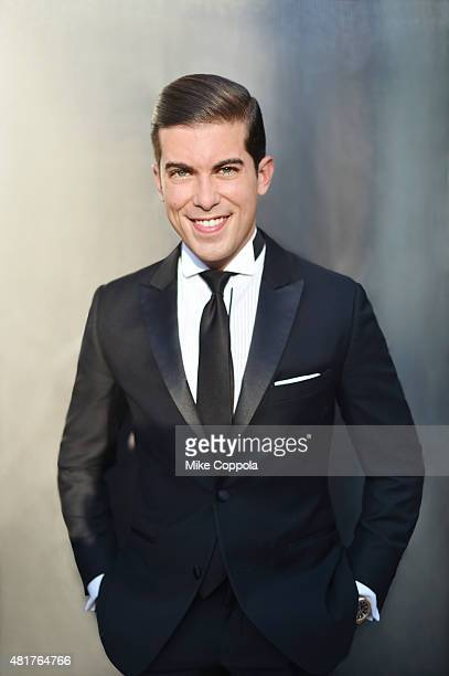 Reality TV show personality Luis D Ortiz attends the 2015 amfAR Inspiration Gala New York at Spring Studios on June 16 2015 in New York City