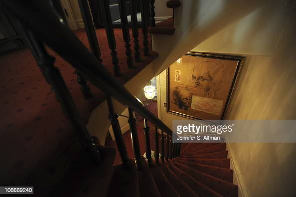 Reality tv star Sonja Morgan of the 'Real Housewives of New York' staircase in New York photographed on September 29 2010 Published image