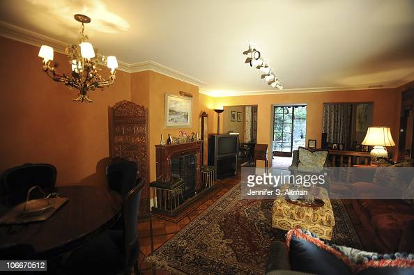 Reality tv star Sonja Morgan of the 'Real Housewives of New York' family room in New York photographed on September 29 2010 Published image