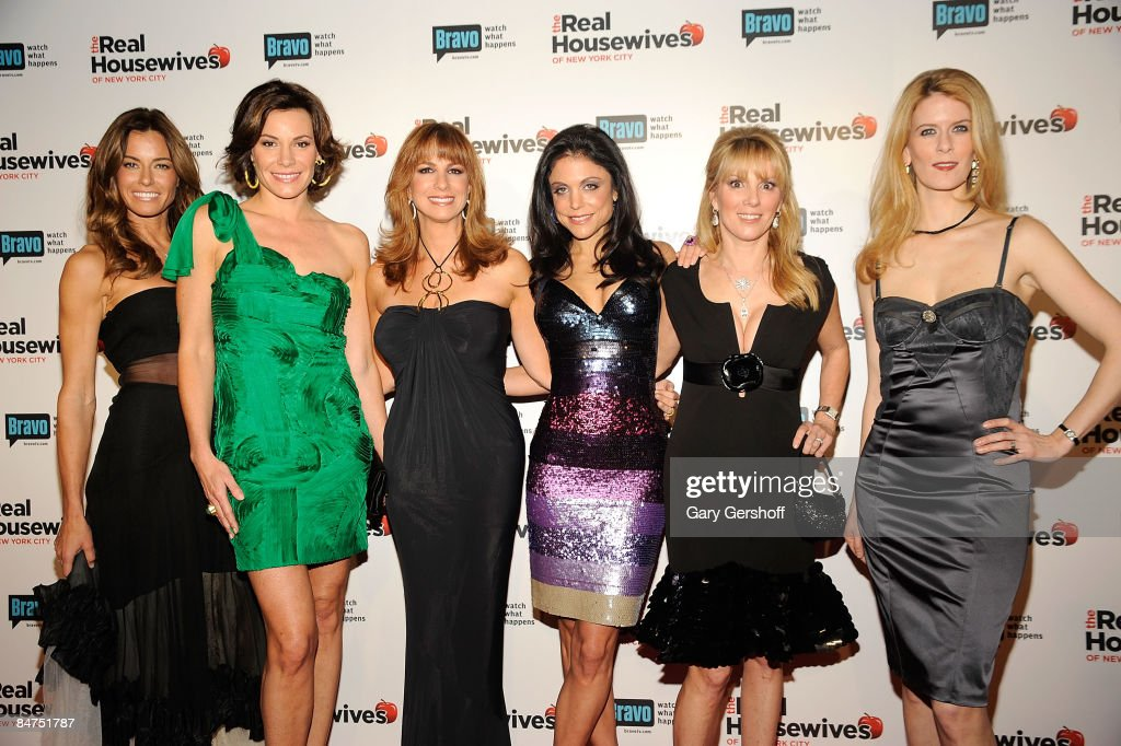 Reality TV stars Kelly Killoren Bensimon LuAnn de Lesseps Jill Zarin Bethenny Frankel Ramona Singer and Alex McCord attend 'The Real Housewives of...