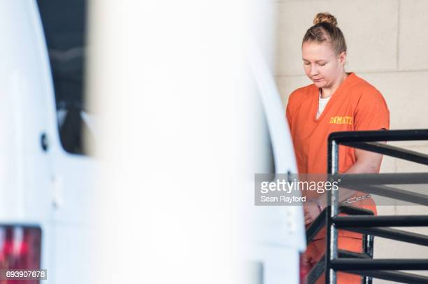 Reality Winner exits the Augusta Courthouse June 8 2017 in Augusta Georgia Winner is an intelligence industry contractor accused of leaking National...