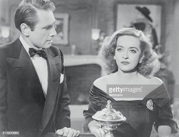Reallife husband and wife Gary Merrill as Bill Sampson and Bette Davis as Margo Channing costar in All About Eve