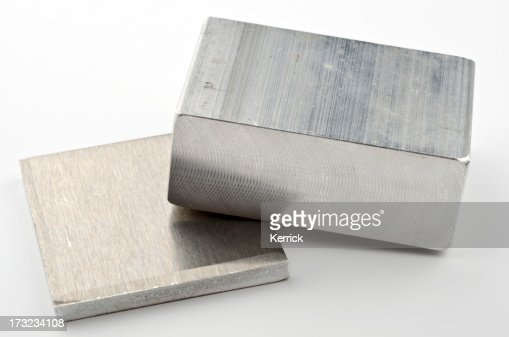 Really and pure chemical Elements - here shown Aluminium Al