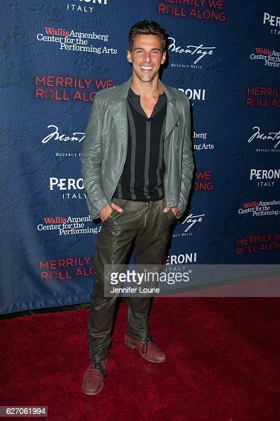 Realtor Madison Hildebrand arrives at the Opening Night of 'Merrily We Roll Along' at the Wallis Annenberg Center for the Performing Arts on November...