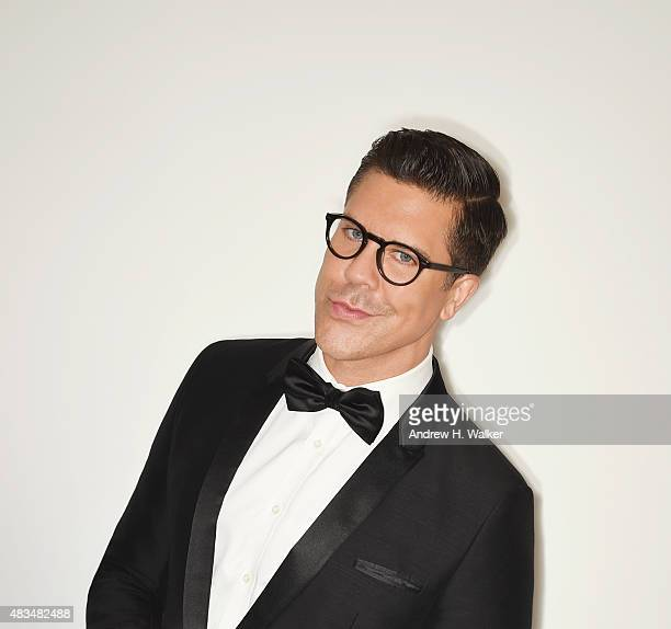 Realty TV personality Fredrik Eklund attends the 2015 amfAR Inspiration Gala New York at Spring Studios on June 16 2015 in New York City