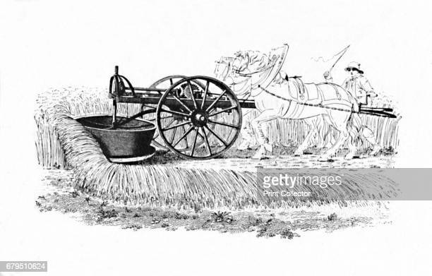 Reaping Machine Invented by James Smith of Deanston' From Social England Volume VI edited by HD Traill DCL and J S Mann MA [Cassell and Company...