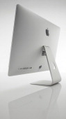 Rear view of an Apple iMac photographed on a white background taken on January 17 2013