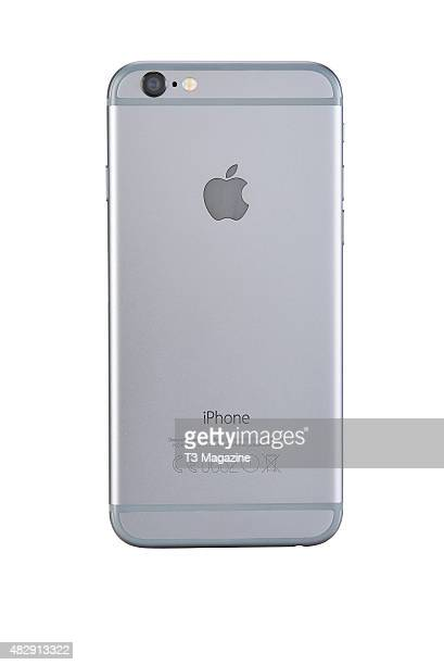 Rear view of an Apple iPhone 6 smartphone taken on November 28 2014