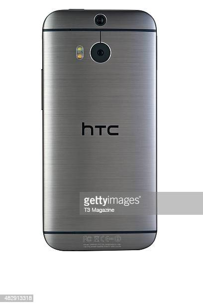 Rear view of an HTC One smartphone taken on November 28 2014