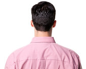 Rear View of Man