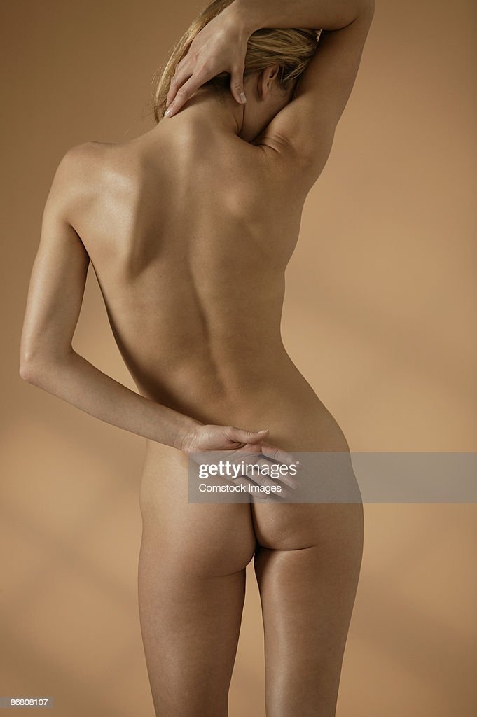 Woman rear nude