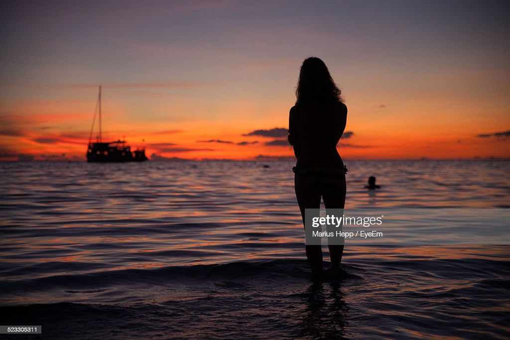 essay on sunset at sea view