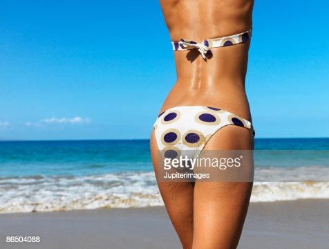 Rear view of woman : Stock Photo