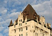 Rear Wing of Chateau Laurier