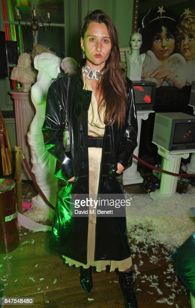 Reba Maybury attends Fiorucci The Resurrection LFW Party supported by Martini at L'Escargot on September 15 2017 in London England