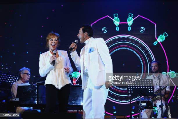 Reba McEntire and Smokey Robinson perform the Closing Night Gala at Cinecittà as part of the 2017 Celebrity Fight Night in Italy Benefiting The...