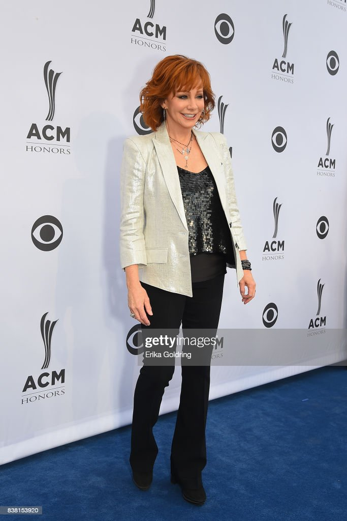 Reba McEntire attends the 11th Annual ACM Honors at the Ryman Auditorium on August 23, 2017 in Nashville, Tennessee.