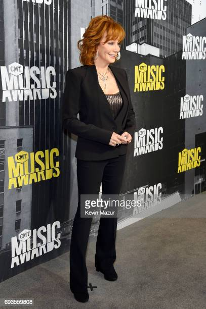 Reba McEntire attends the 2017 CMT Music Awards at the Music City Center on June 7 2017 in Nashville Tennessee