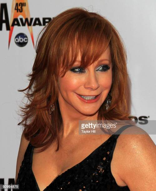 Reba McEntire attends the 43rd Annual CMA Awards at the Sommet Center on November 11 2009 in Nashville Tennessee