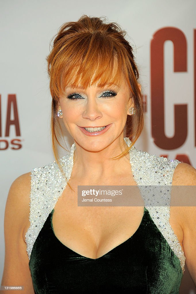 Reba McEntire attends the 45th annual CMA Awards at the Bridgestone Arena on November 9, 2011 in Nashville, Tennessee.
