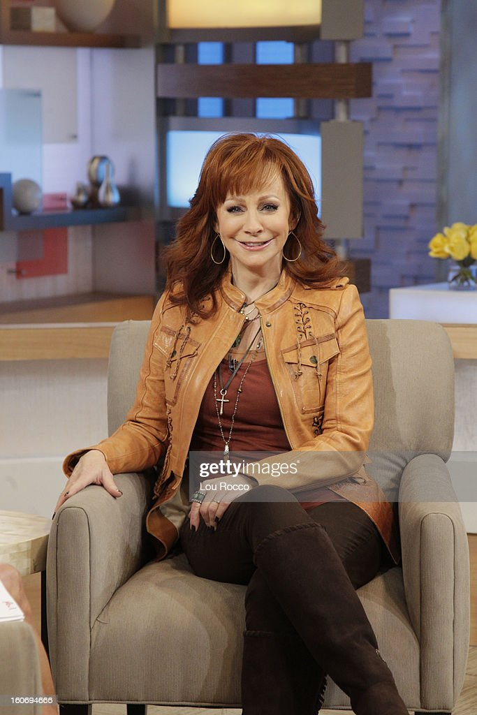 AMERICA - Reba McEntire is a guest on 'Good Morning America,' 2/4/13, airing on the ABC Television Network. (Photo by Lou Rocco/ABC via Getty Images) REBA MCENTIRE