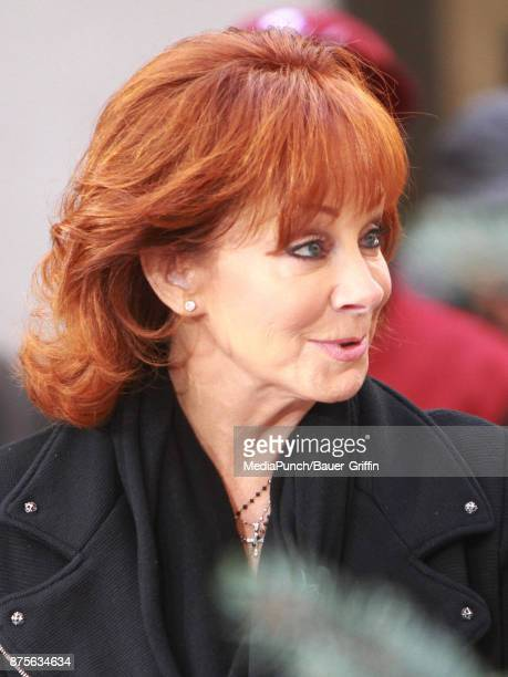 Reba McEntire is seen at set of 'Access Hollywood Live' on November 17 2017 in New York City
