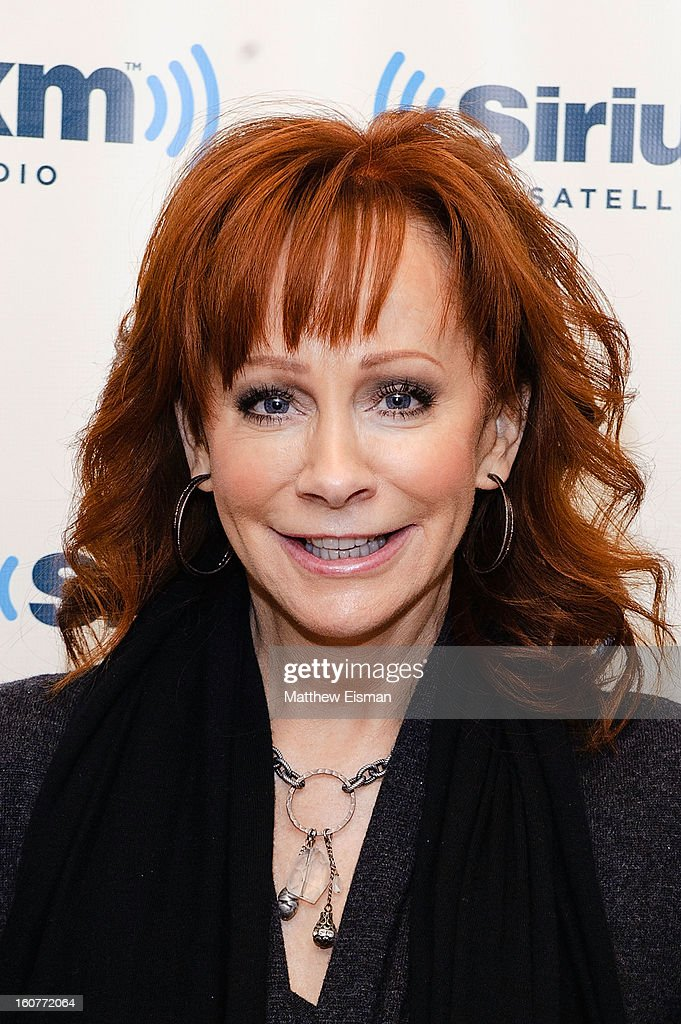 Reba McEntire visits SiriusXM Studios on February 5, 2013 in New York City.