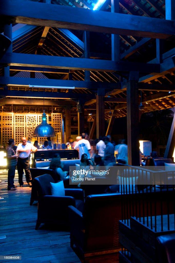 Rebar Bar at Indigo Pearl Resort. : Stock Photo