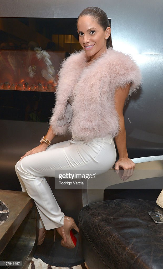 Rebeca Cabral attend the V.A.U.L.T. Art Basel Party on December 6, 2012 in Miami, Florida.