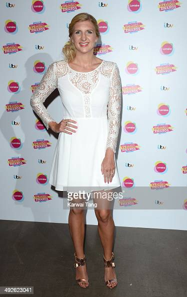 Rebecca Adlington attends Lorraine's High Street Fashion Awards held at Vinopolis on May 21 2014 in London England