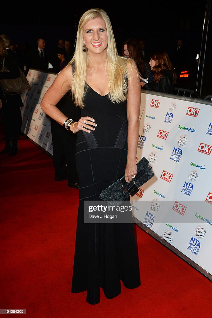 <a gi-track='captionPersonalityLinkClicked' href=/galleries/search?phrase=Rebecca+Adlington&family=editorial&specificpeople=872897 ng-click='$event.stopPropagation()'>Rebecca Adlington</a> attends the National Television Awards 2014 on January 22, 2014 in London, England.