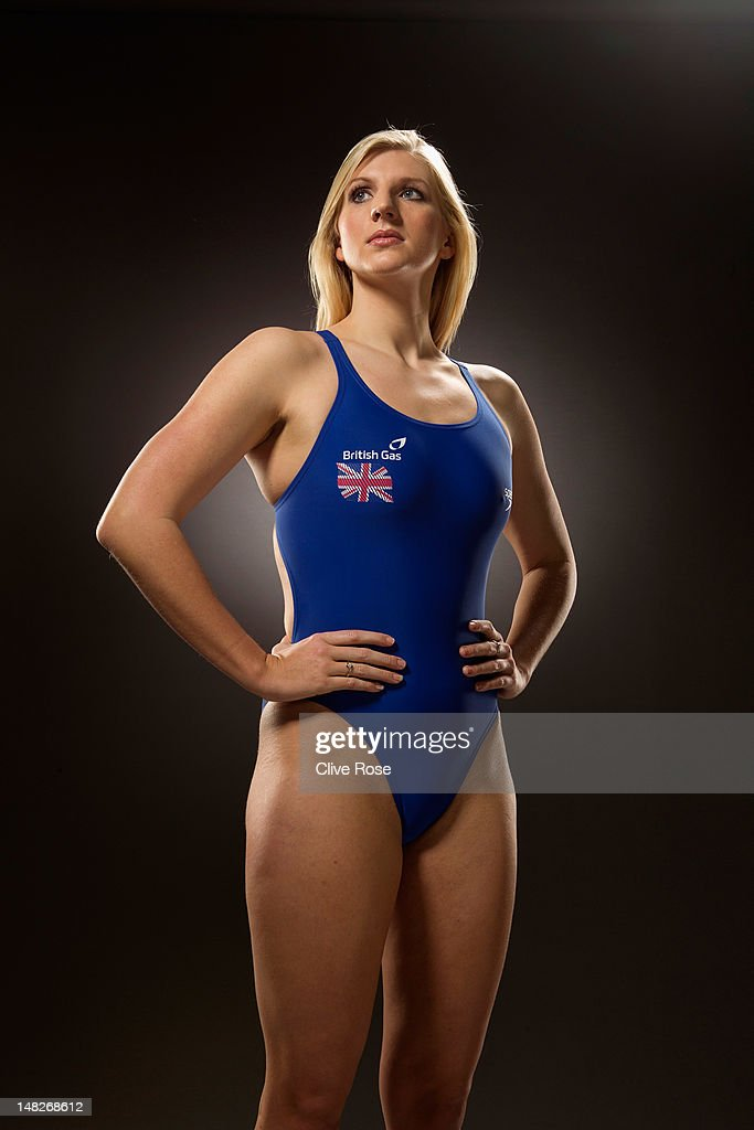 <a gi-track='captionPersonalityLinkClicked' href=/galleries/search?phrase=Rebecca+Adlington&family=editorial&specificpeople=872897 ng-click='$event.stopPropagation()'>Rebecca Adlington</a> of the British Gas Great Britain Swimming Team poses for a portrait during a British Gas photoshoot on January 18, 2012 in Nottingham.