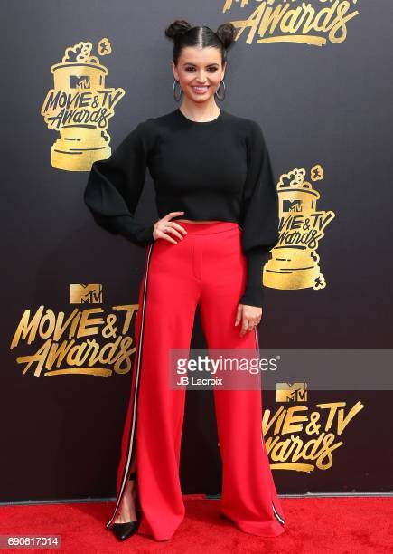 Rebecca Black attends the 2017 MTV Movie and TV Awards at The Shrine Auditorium on May 7 2017 in Los Angeles California