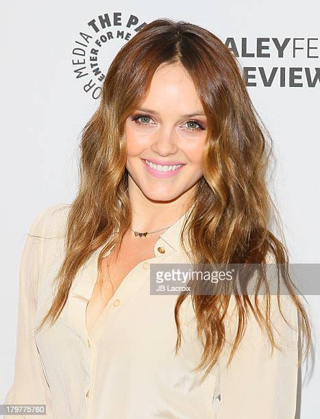 Rebecca Breeds attends the PaleyFestPreviews Fall TV CBS' 'We Are Men' held at The Paley Center for Media on September 6 2013 in Beverly Hills...