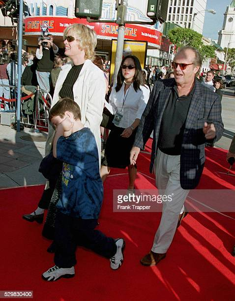 Rebecca Broussard Jack Nicholson and their son