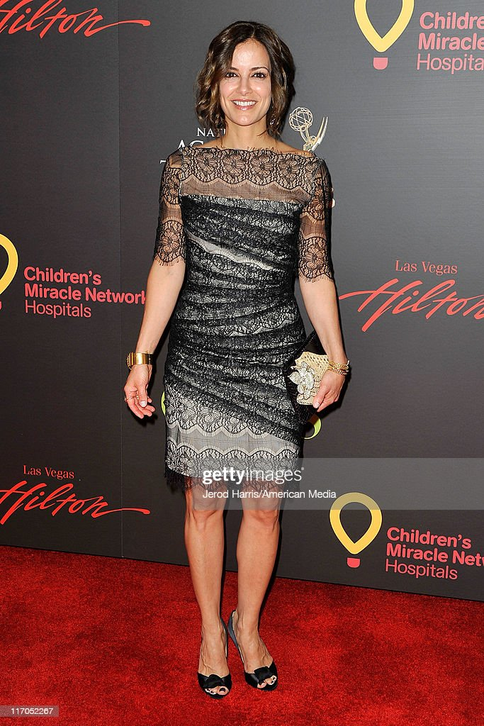 Rebecca Budig arrives at 38th Annual Daytime Entertainment Emmy Awards For Soap Opera Weekly on June 19, 2011 in Las Vegas, Nevada.