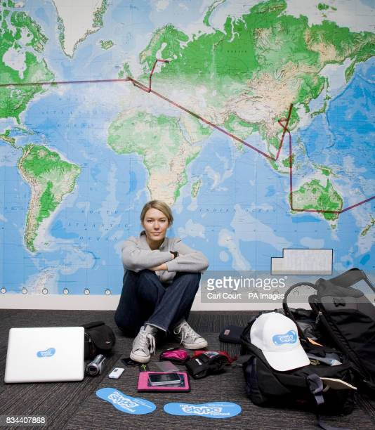 Rebecca Campbell a 26 year old travel writer prepares to pack her bags before embarking on a 33 day roundtheworld trip across 15 countries
