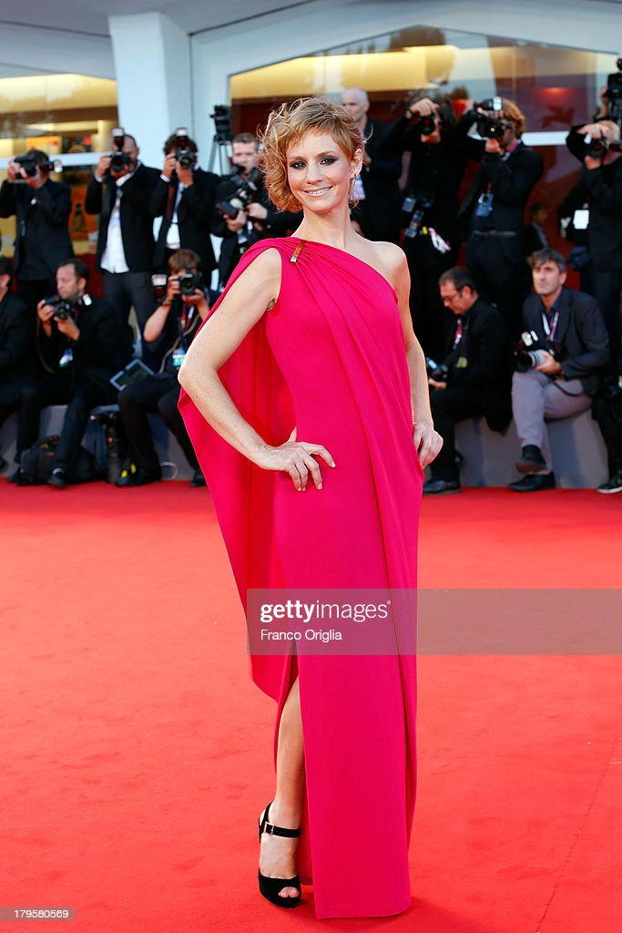Rebecca Convenant attends the 'Jealousy' Premiere during the 70th Venice International Film Festival at the Palazzo del Cinema on September 5, 2013 in Venice, Italy.
