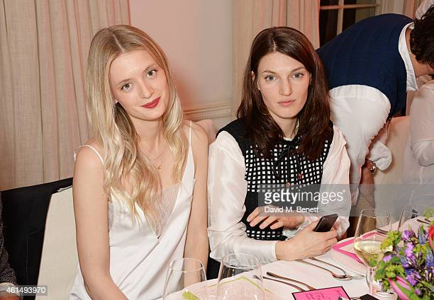 Rebecca Corbin Murray and Ben Grimes attend a dinner hosted by Jo Malone London and Tallulah Harlech to launch the 'Just Because' campaign on January...
