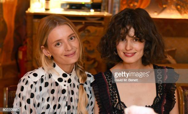 Rebecca Corbin Murray and Chloe Hill attend an intimate dinner hosted by Nicky Zimmermann and Margot Robbie to celebrate the opening of the...