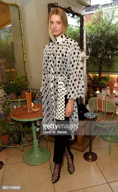 Rebecca Corbin Murray attends an intimate dinner hosted by Nicky Zimmermann and Margot Robbie to celebrate the opening of the Zimmermann London...