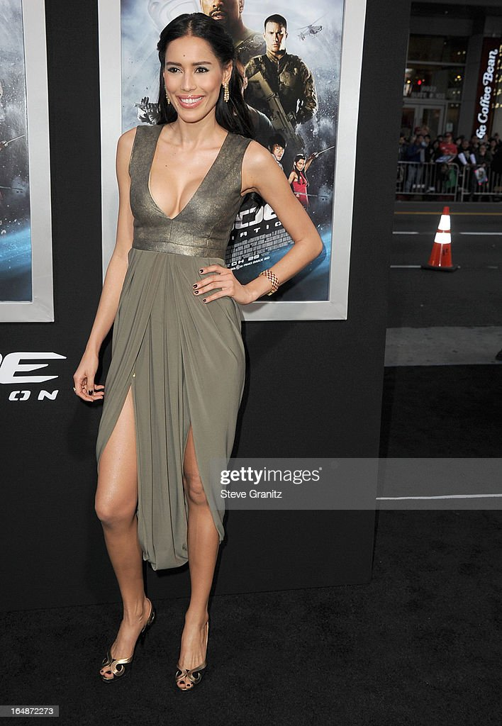 Rebecca Da Costa arrives at the 'G.I. Joe: Retaliation' - Los Angeles Premiere at TCL Chinese Theatre on March 28, 2013 in Hollywood, California.