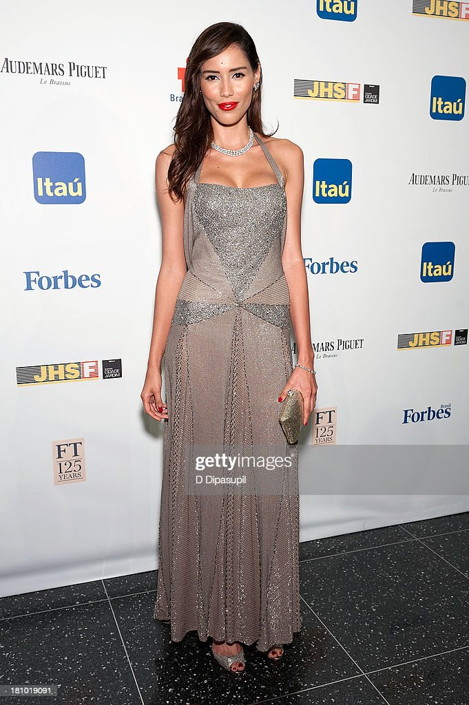 Rebecca da Costa attends the 11th Brazil Foundation NYC gala at The Museum of Modern Art on September 18, 2013 in New York City.
