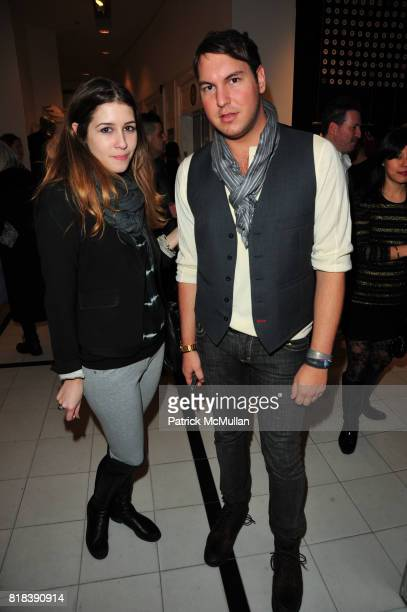 Rebecca Daly and Gregory Littlley attend EQUIPMENT Launch Party hosted by BECKA DIAMOND and SERGE AZRIA at Saks Fifth Avenue NYC on February 16 2010...